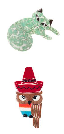 Sleeping Cat and Senor Sombrero Owl